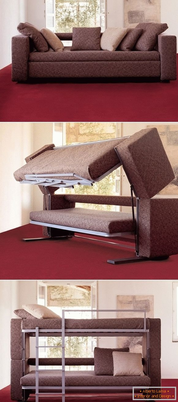 Sofa-bunk bed