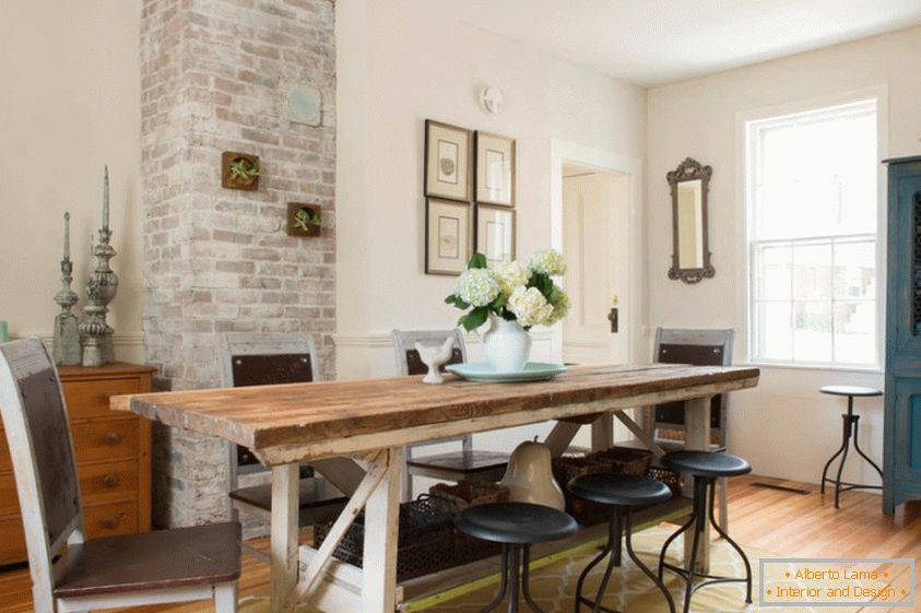 12 ways to add rustic motifs to the interior of your dining room