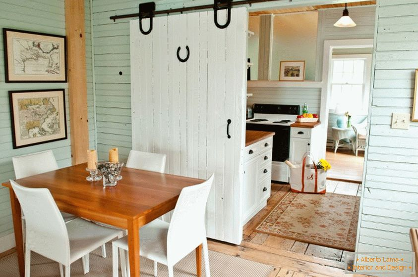 Big barn door will give a special charm