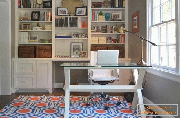 Creative mat always helps revitalize the interior
