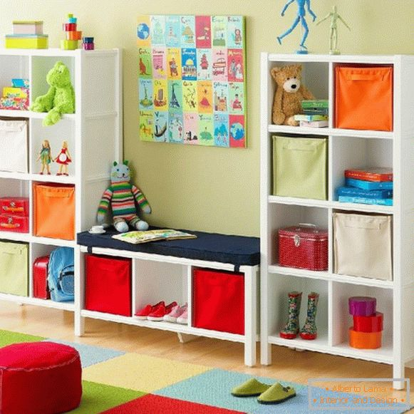 Comfortable furniture for a children's room