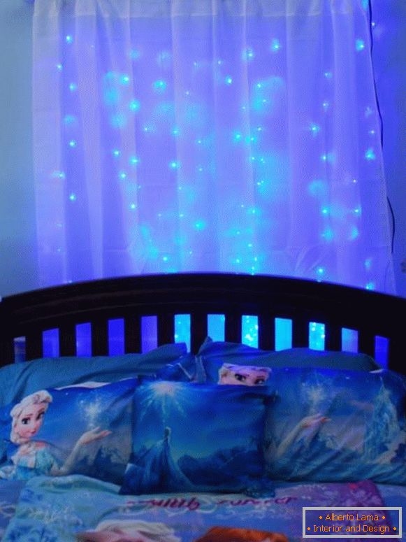 Application of LED lighting in a nursery