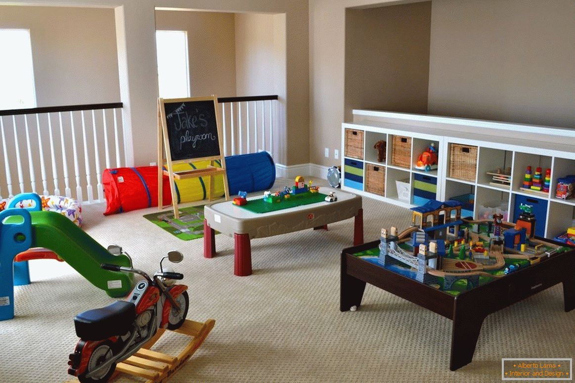 Game room for the boy
