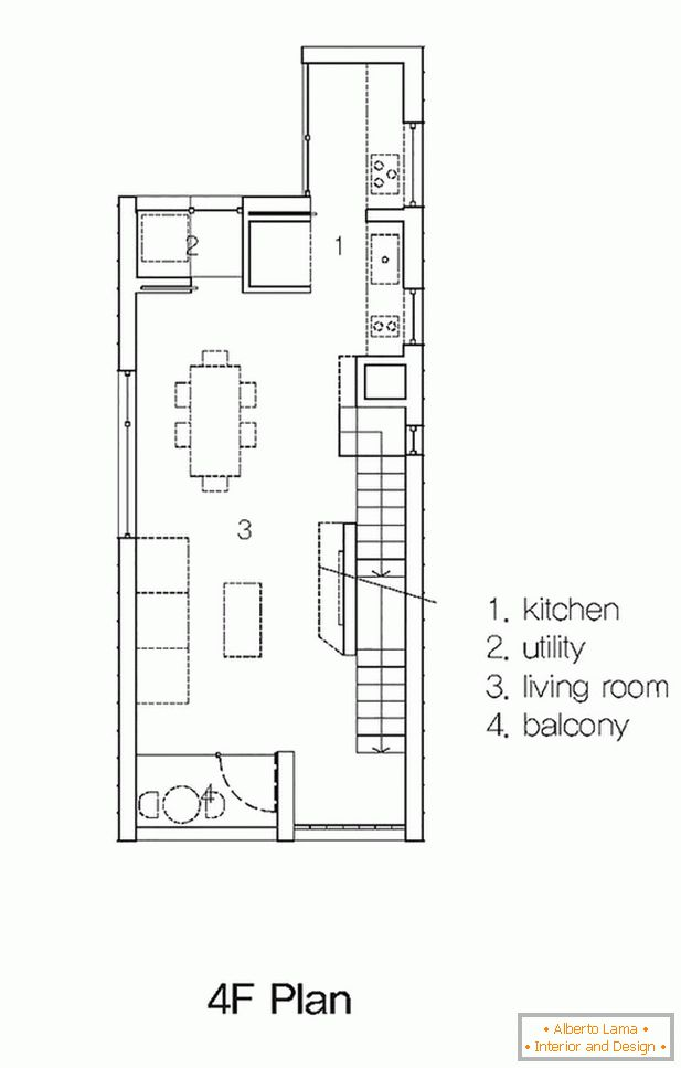 The layout of a compact house - фото 4