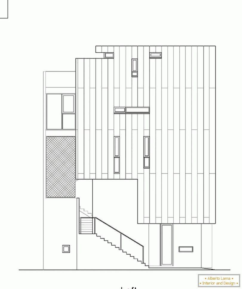 Project of the facade of a compact house - фото 2
