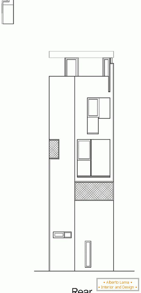 Project of the facade of a compact house - фото 3