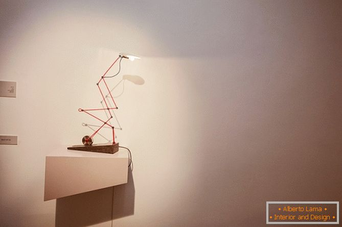 Bugal table lamp from the studio Magenta
