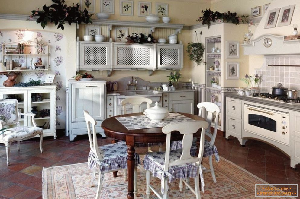Vintage Kitchen Interiors