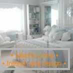 Bright bedroom decor