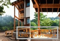 Wooden house on the hill in Geochang from the studio studio_GAON