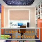 Space on the ceiling in the nursery