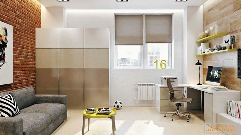 Room 12 sq m for a teenager