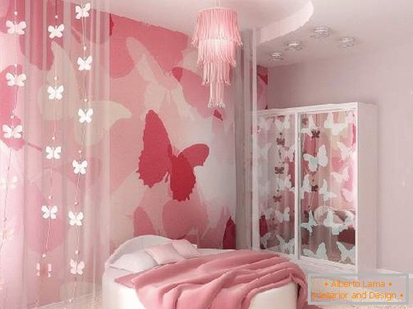 Wall-papers to a children's room for girls, photo 28