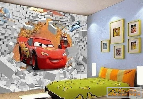Wall-papers for children 3d, photo 5