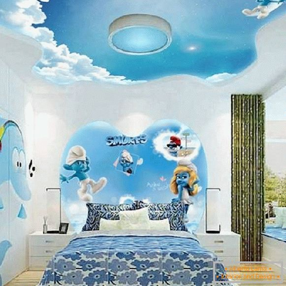 children's design with photo wallpapers, photo 9