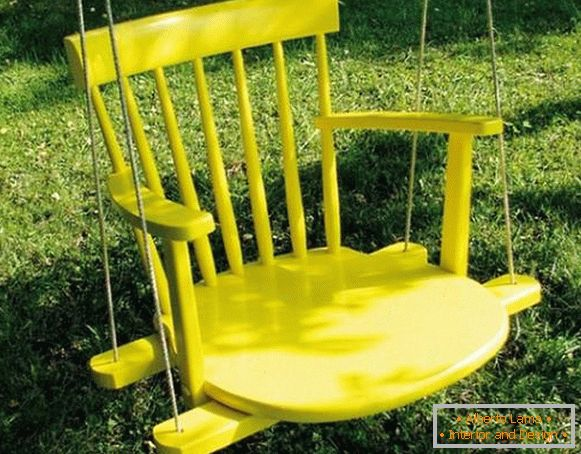 swing-out chair