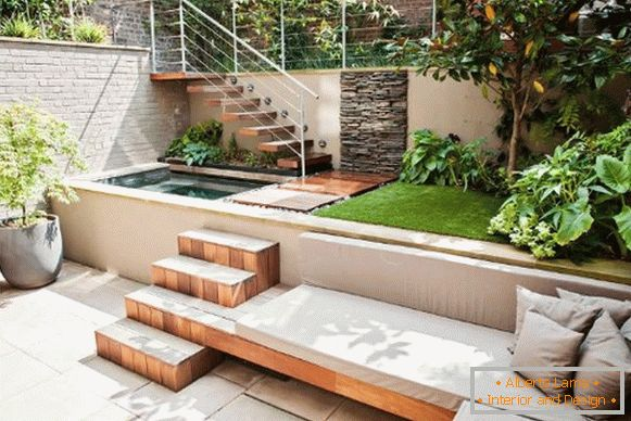 На фото: Landscaping yard design