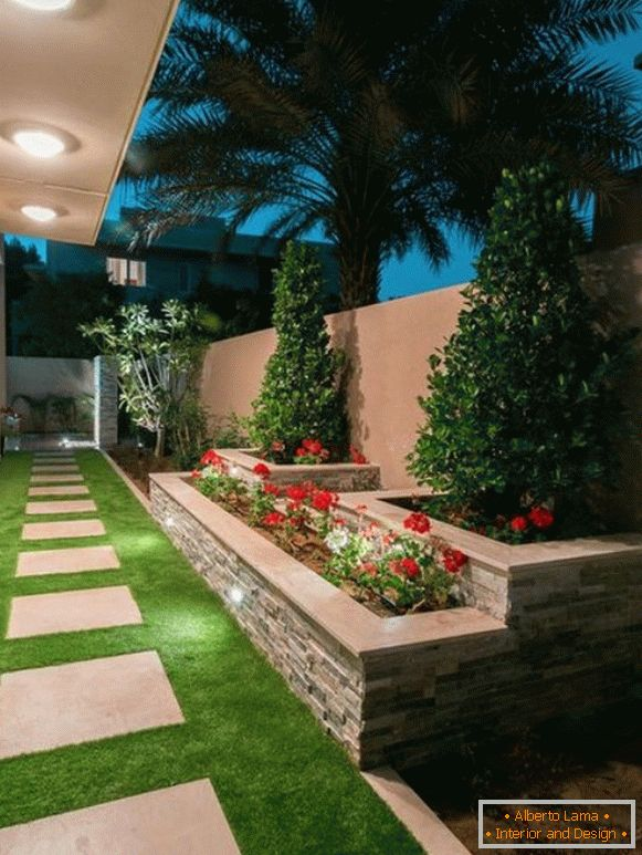 На фото 8: Landscaping yard design