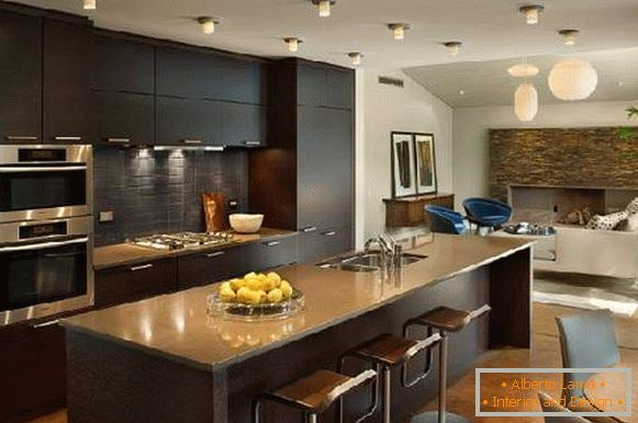 kitchen interior design, photo 1