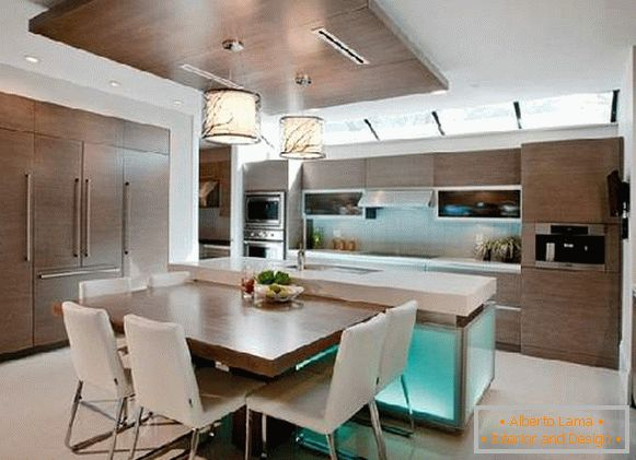 kitchen design, photo 2