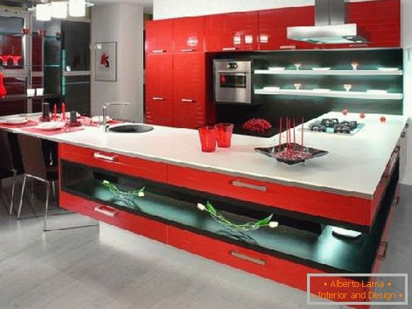 kitchen design, photo 28