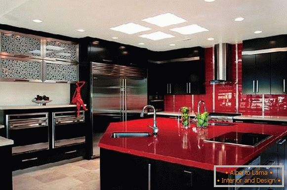 kitchen design, photo 40