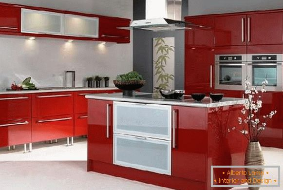 kitchen design 6 sq. m, photo 5