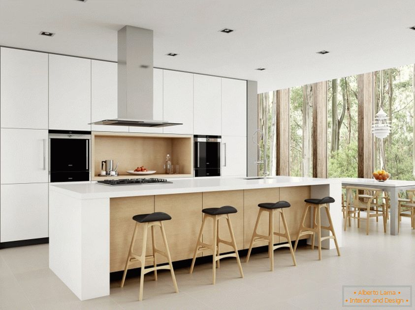 Kitchen Design In Art Nouveau Style Simplicity And
