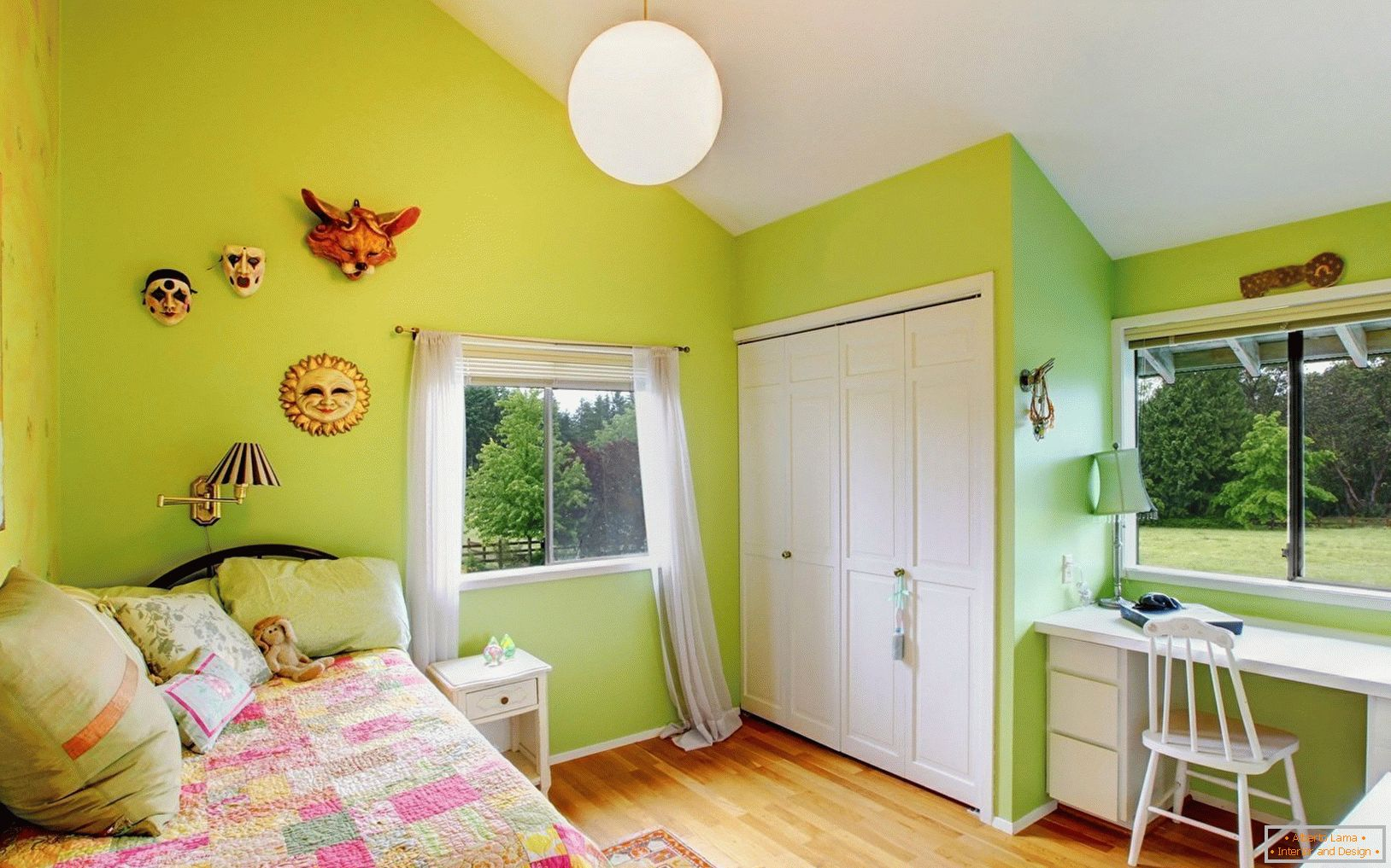 Design of a small children's room