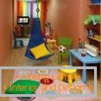 Colored furniture in the nursery