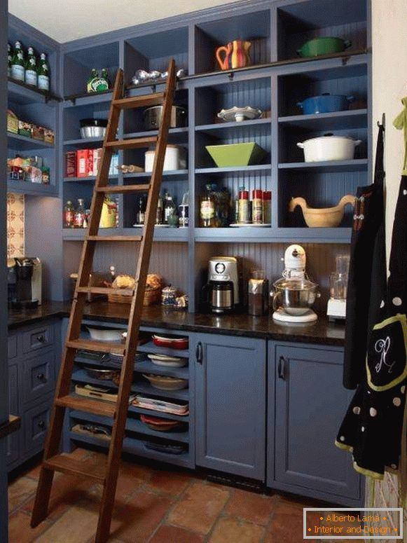 Beautiful and cozy pantry - the best design ideas