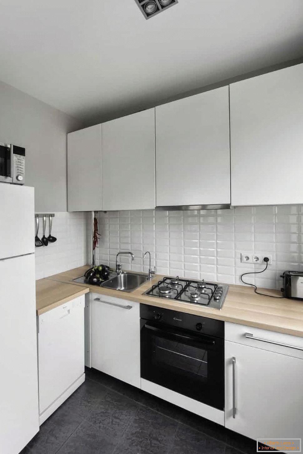Built-in appliances in the kitchen