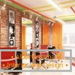 Design with bright accents