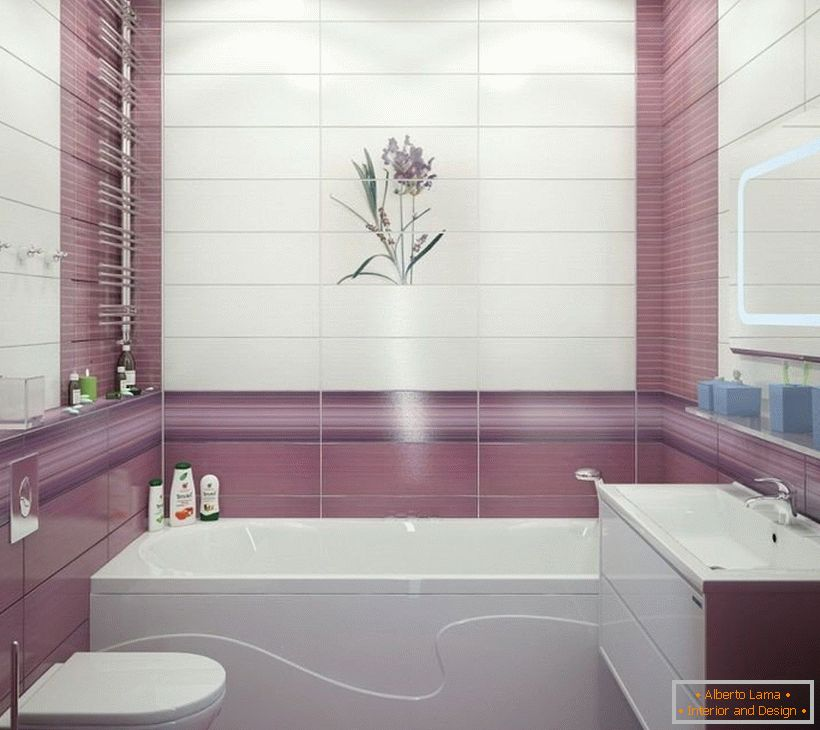 Design of a small bathroom in the apartment