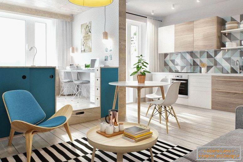 The Design Of Narrow Apartment