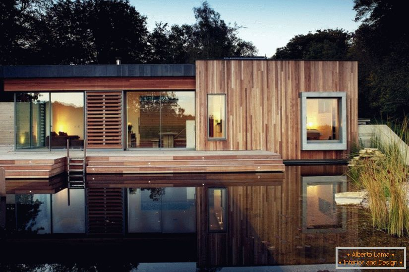 House next to the National Park of Great Britain from PAD Studio