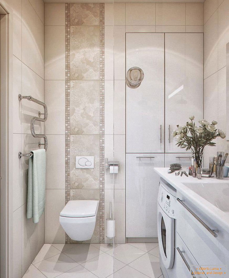 Bathroom in white color