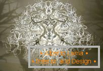 Exotic chandelier from Thyra Hilden and Pio Diaz