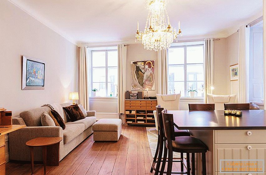 Stockholm studio apartment