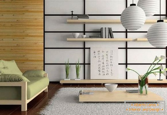 Decor in the style of Chinese minimalism