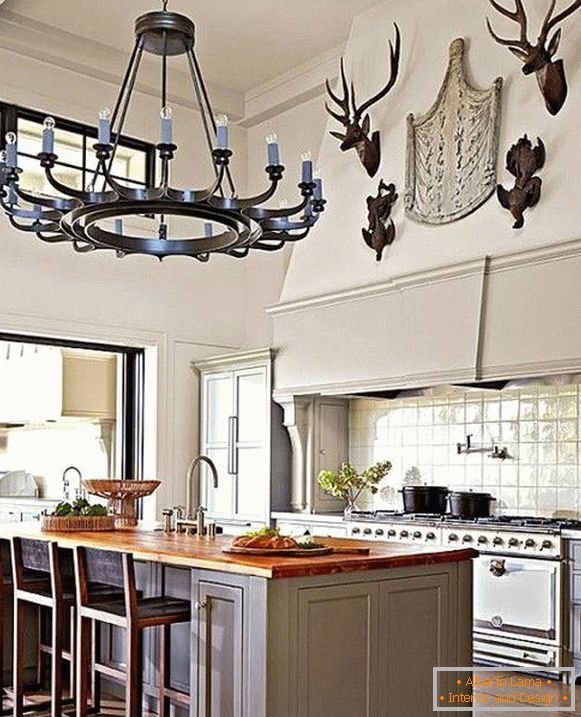 Ideas for traditional kitchen decoration