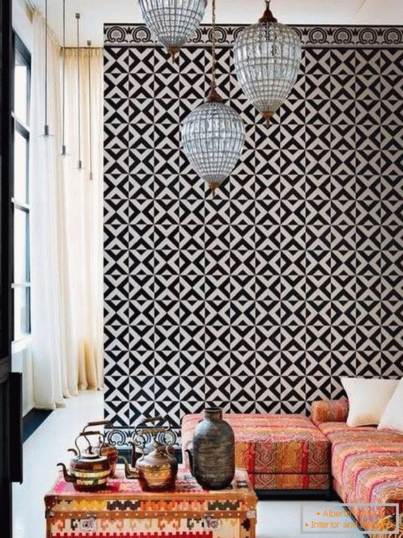 Moroccan-decor-in-living room