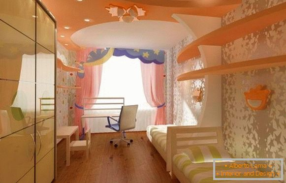 children's room interior for a girl 12 years old photo
