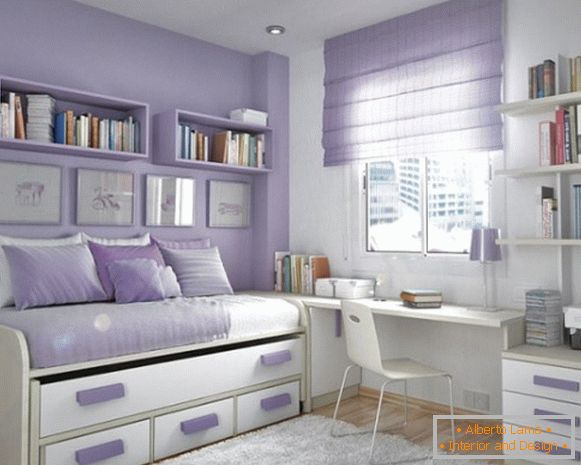 ideas for the interior of a children's room for a girl