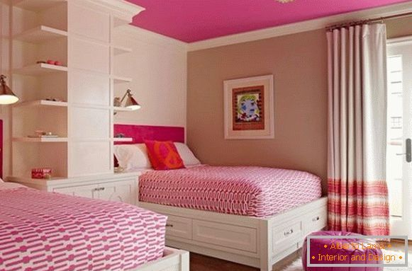 interior of a children's room for a girl 5 лет