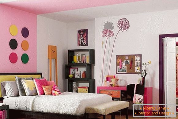 styles of interior decoration of a children's room for a girl фото