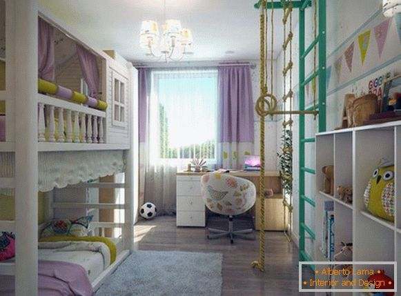 interior of a children's room for girls photos