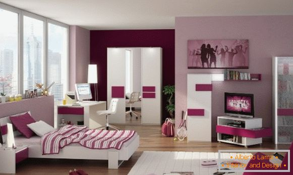 interior of a children's room for a girl 7 лет