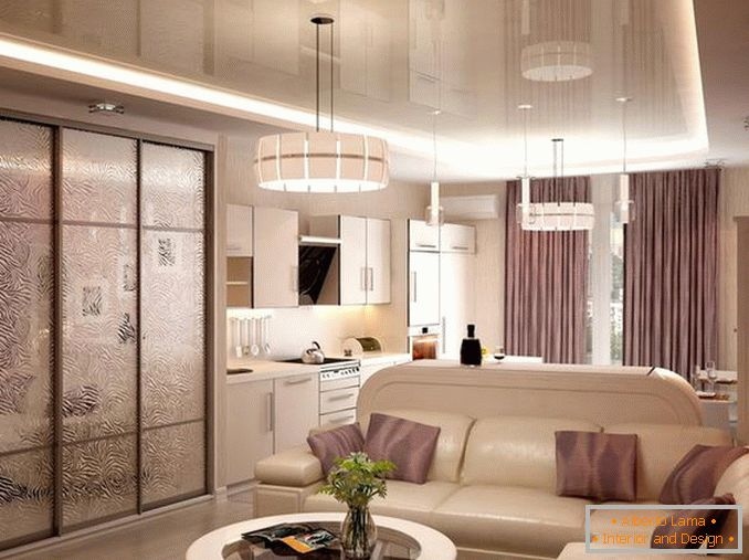 interior of a modern one-room apartment photo, photo 6