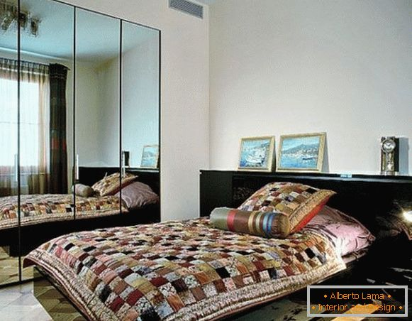 Bedroom in ethnic style